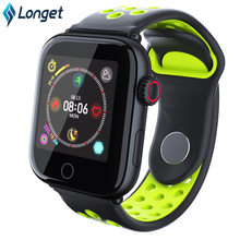 Longet Sport Fitness Watch Z7 Color Screen Blood Pressure Smart Watch Call Reminder Waterproof Activity Tracker for iPhone 8