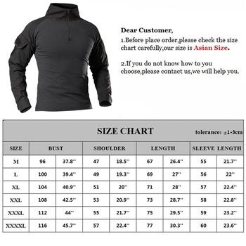 Men's Outdoor Tactical Hiking T-Shirts,Military Army Camouflage Long Sleeve Hunting Climbing Shirt,Male Breathable Sport Clothes 6