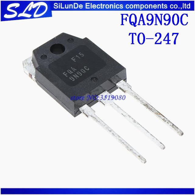 จัดส่งฟรี 5 ชิ้น/ล็อต FQA9N90C 9N90C TO 3P ใหม่และต้นฉบับสต็อก