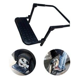 Колесная ступенчатая складная Автомобильная лестница с креплением на шины, автомобильная лестница для транспортного средства MPV SUV, багажн...
