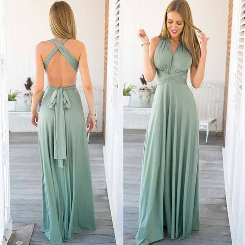 Sexy Dew Shoulder Evening Dress Ever Pretty Evening Party Dresses Long Backless Formal Dresses Elegant Party Evening Gowns