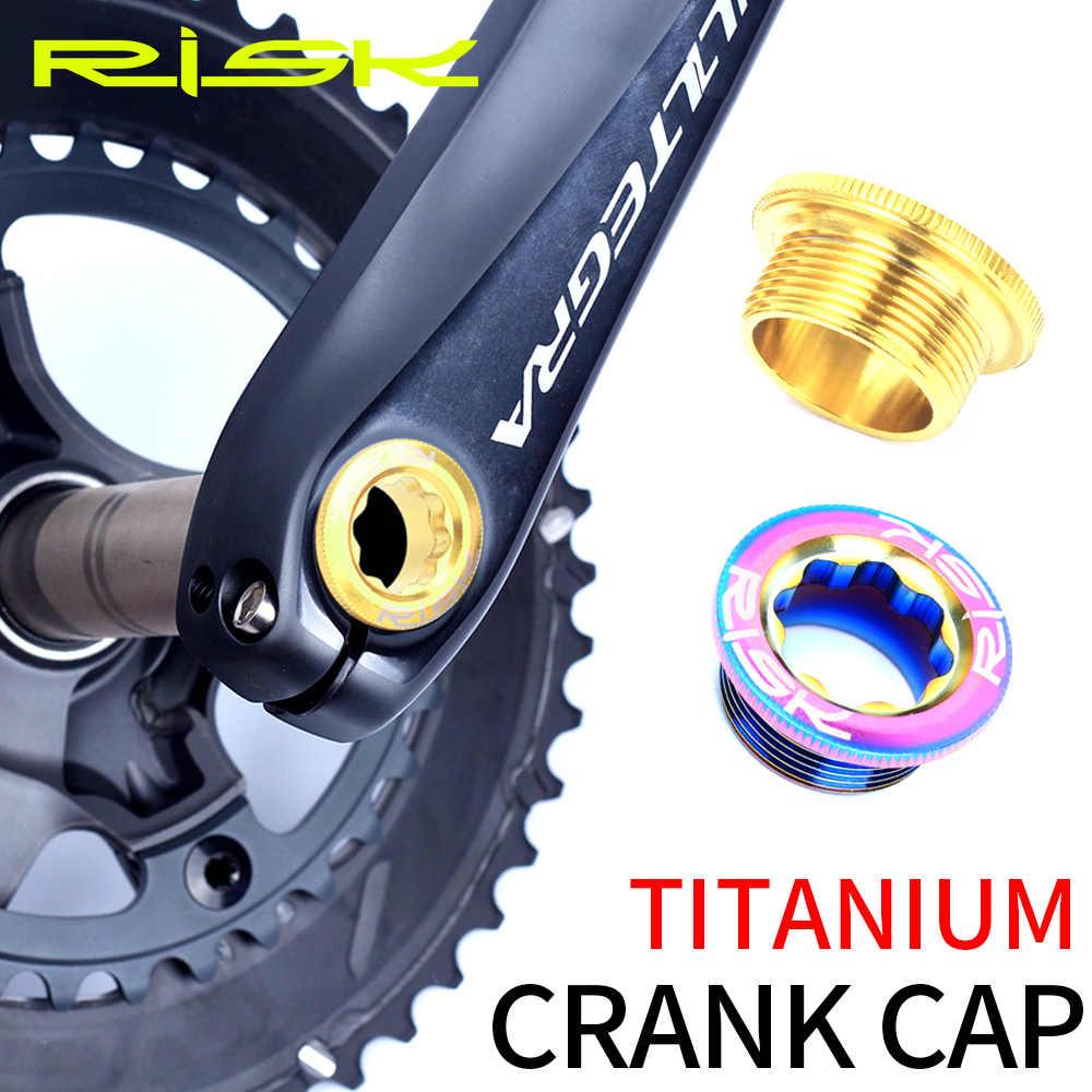Titanium Ti Bike Bicycle Crank Arm Fixing Bolt for Shimano XTR Deore M20X8.5mm