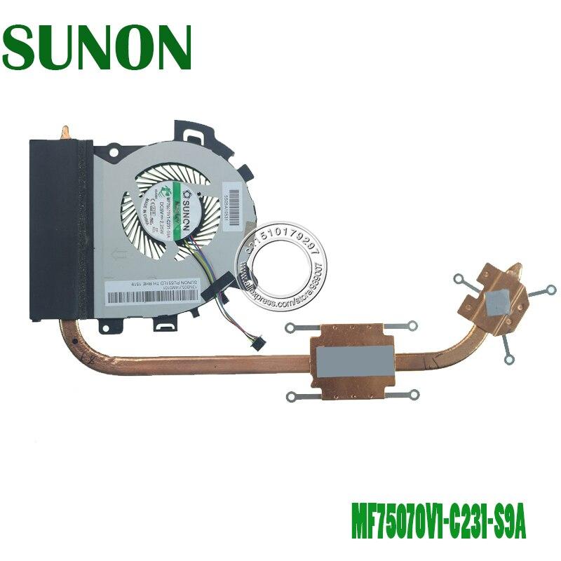 Новый Кулер Для процессора/радиатор для Asus PU551 PU551LD PU551LA PU551L Pro551L PRO 551L MF75120V1 C240 S9A 5V 2,25 W дискретный graphi