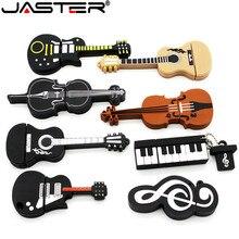 JASTER Reale kapazität 8 stil Instrumenty muzyczne Modelu stick 4 gb 16 gb 32 gb 64 gb USB-stick skrzypce/klavier/gitara
