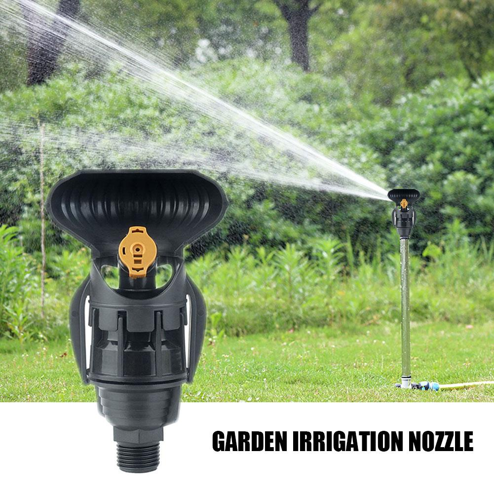 1PC Agricultural Irrigation Sprinkler Garden Tools Micro Sprinkler With Reflector 3 Hose Nozzle Adjustable Rotary Nozzle Irrigat Watering Kits     - title=