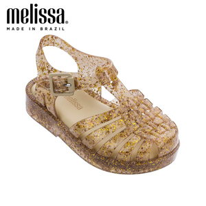 Melissa/летние сандалии в римском стиле; Прозрачная обувь для девочек; Сандалии; Детская обувь; Сандалии Melissa; Прозрачная обувь принцессы для де...