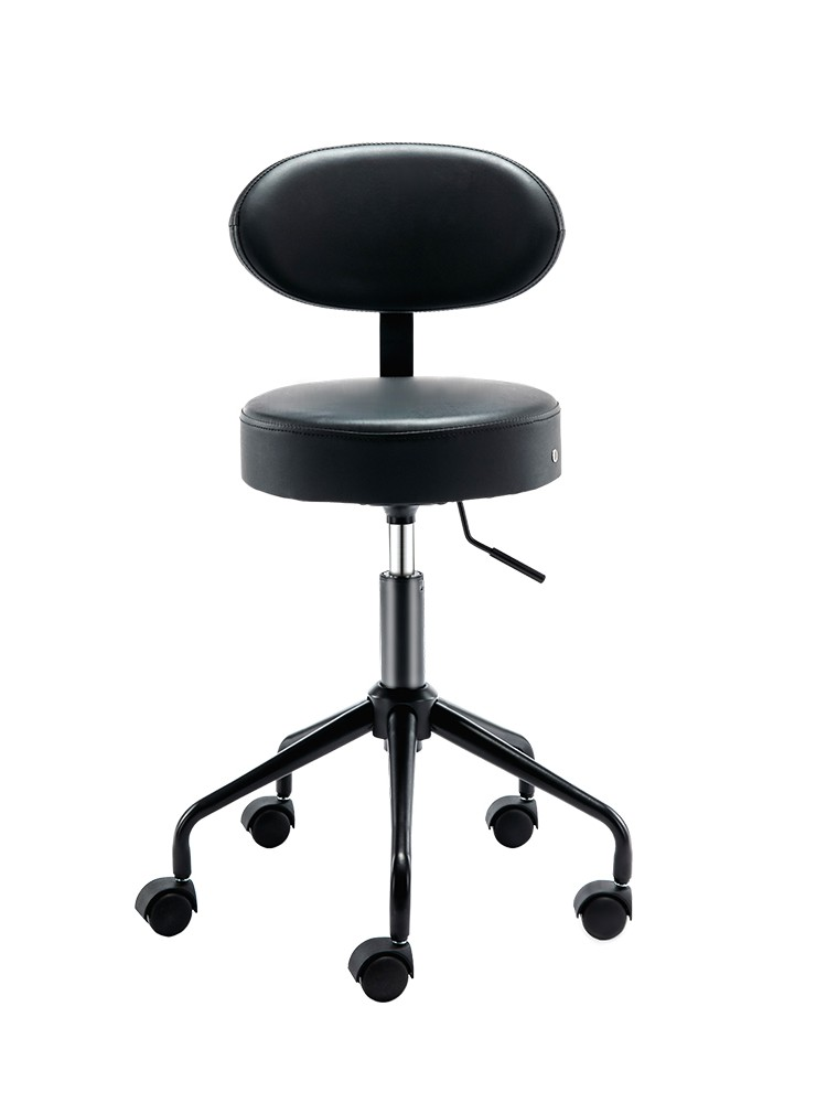 Beauty And Hairdressing Revolving Chair Operating Stool Laboratory Stool Bar Backrest Lifting Stool Tattoo Chair Technicians Wor