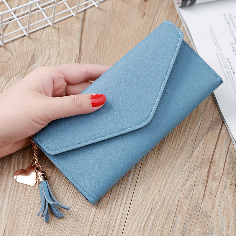 H364df23c0590439fb9b853c9bb72942e7 - Wallet for Women Hasp Envelope Portwel Damski