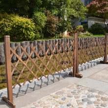 Выдвижной раздвижной декоративный деревянный забор защитный