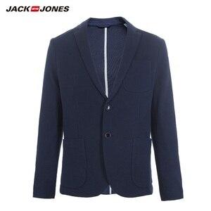 Image 5 - JackJones Mens Slim Fit Two button 100% cotton Blazer Basic Style Suit Jacket Menswear 219108509