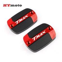 Für YAMAHA T Max TMAX 500 530 560 SX DX TMAX530 TMX560 Motorrad Zubehör Rot Brems Flüssigkeit Kraftstoff Reservoir tank Öl Kappe Abdeckung
