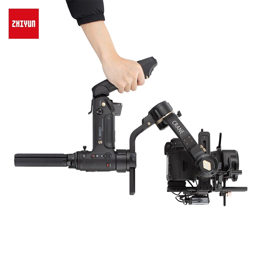 ZHIYUN vinç 3S S-E 3 oxlu el gimbal simsiz 1080p FHD DSLR kamera - Kamera və foto - Fotoqrafiya 5