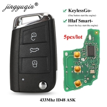 Remote-Key Seat 434mhz Tiguan 5G6959752AB MQB VW ID48 Golf-7 Keyless-Go/half-Smart-Option