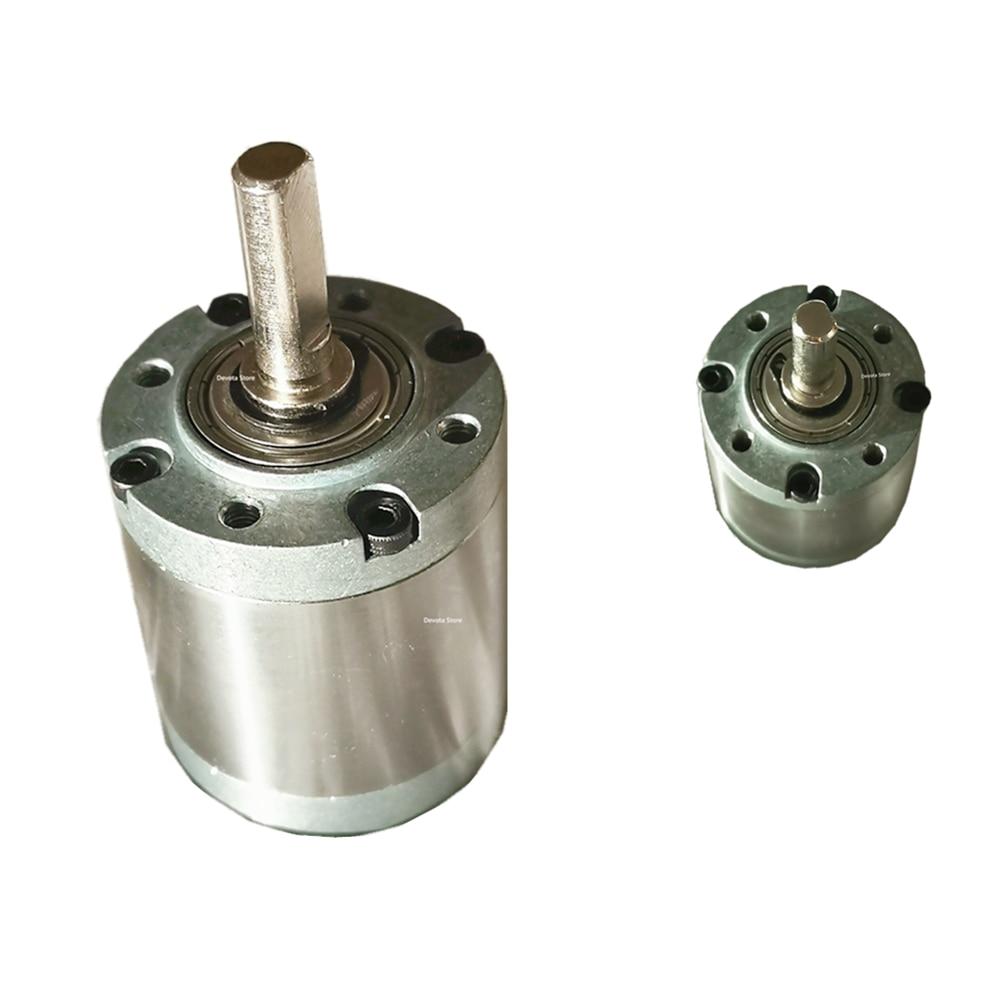 42MM diameter For 775/795/895/4260 DC BLDC Motor Planetary reduction gear box FOR 5MM shaft diameter
