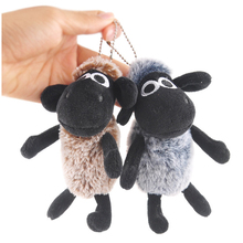 Cartoon fur small wool velvet pendant cute plush toy doll creative girl backpack ornaments