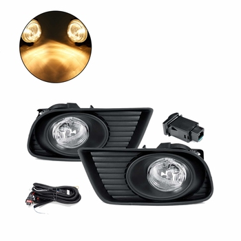Car Fog Light Fog Lamp Covers for Mazda BT-50 Pickup 2008 2009 2010 2011 Front Bumper Fog Lamp Driving Light DRL Accessories