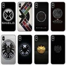 marvel shield logo Accessories phone case For Xiaomi Redmi S2 6 6A 5 plus 5A 4X 4A 3 Note 6 5A 5 pro 4 3 2(China)