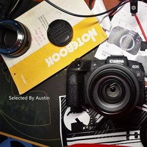 Image 4 - لصقة جلد صناعي لكانون EOS R EOS RP كاميرا الجلد ملصق مائي حامي المضادة للخدش معطف التفاف غطاء