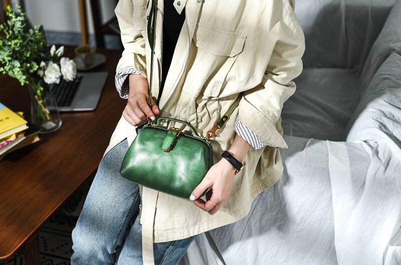 Premium Leather Retro Handmade Doctor Bag