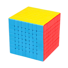 8x8x8 Magic Cube Professional Puzzle Smooth Cubos Magicos Kids Competition Training Speed Cube Toys for Children Gift Adult Toy magic cube magique magic square cube classic new year set cubos magicos inhalation for children grownups 502696