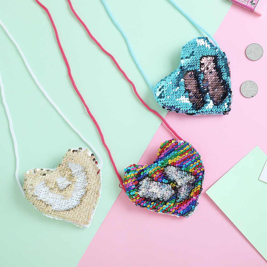 Monedero para niñas con lentejuelas, monedero con cambio de bolsillo para niñas, organizador cuadrado, bolso con cremallera portátil para niños, monedero, monedero