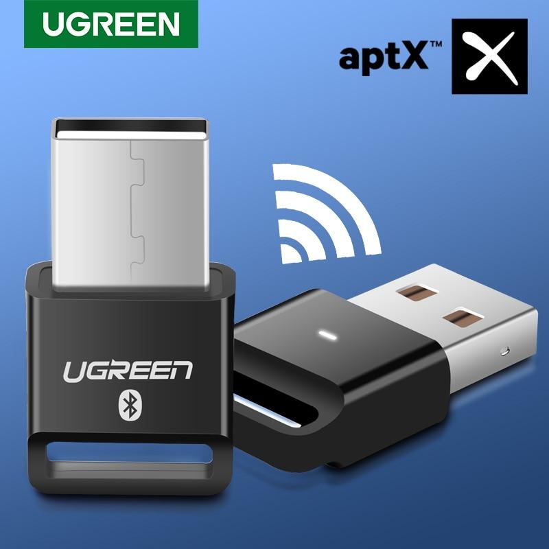 Ugreen USB Bluetooth Dongle adaptateur 4.0 pour ordinateur haut-parleur sans fil souris Bluetooth musique Audio récepteur émetteur aptx