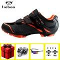 Tiebao обувь для велоспорта sapatilha ciclismo mtb add педаль spd набор дышащие мужские кроссовки для горного велосипеда самоблокирующийся велосипед