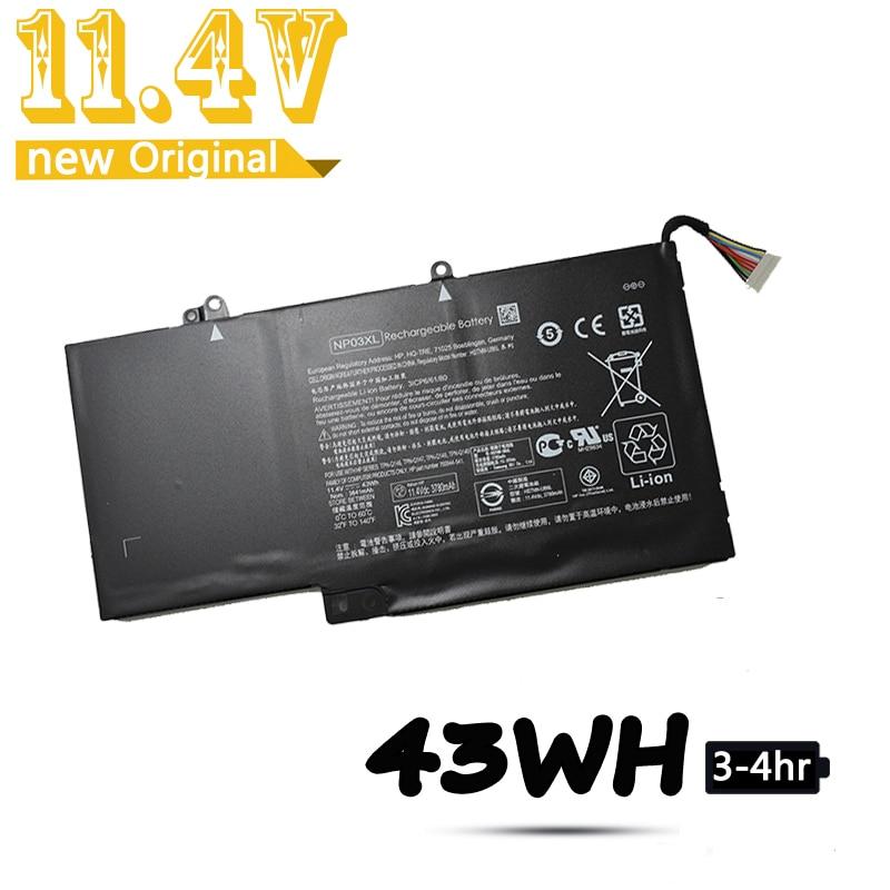 Laptop Battery NP03XL For HP Pavilion X360 13-A010DX TPN-Q146 TPN-Q147 TPN-Q148 HSTNN-LB6L 760944-421 15-U010DX Battery