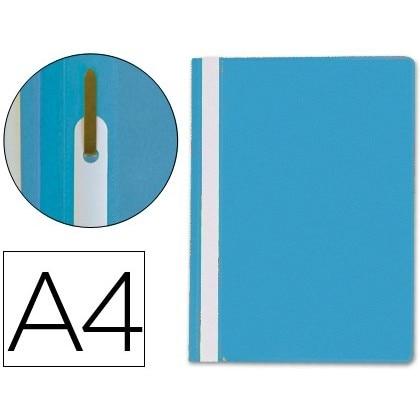 FOLDER DOSSIER FASTENER PLASTIC Q-CONNECT DIN A4 BLUE 25 Units