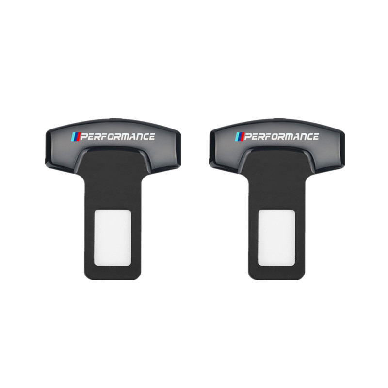2pcs Car Belt Buckles Car Seat Safty Belt Alarm Canceler Stopper for BMW X1 X3  X5 X6 E46 e39 E90