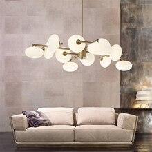 Post-Modern LED Chandelier Lighting Ball Magic Beans Chandeliers Living Room Restaurant Bedroom Hanging Lamp Luminaire Luster