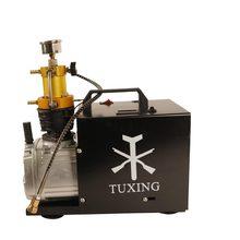 Txes031 tuxing 4500psi 300bar pcp compressor de ar elétrico bomba de alta pressão para pneumático pcp rifle carabina mergulho inflator