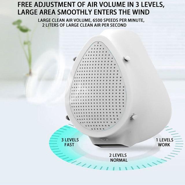 Anti flu Anti Virus Mask PM2.5 Anti Virus Haze Protective Dustproof Electric Filter Air Purification Mask Protective mask 4