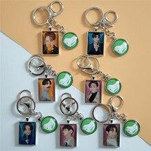 Keychain Lanyard My-Name Kpop Got7 Key-Ring Photo-Album Metal Crystal for Mobile-Phone