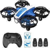 Holy Stone HS330 Mini Drone operado a mano para niños cuadricóptero de Control remoto con retención de altitud, tiro a ir, círculo volar