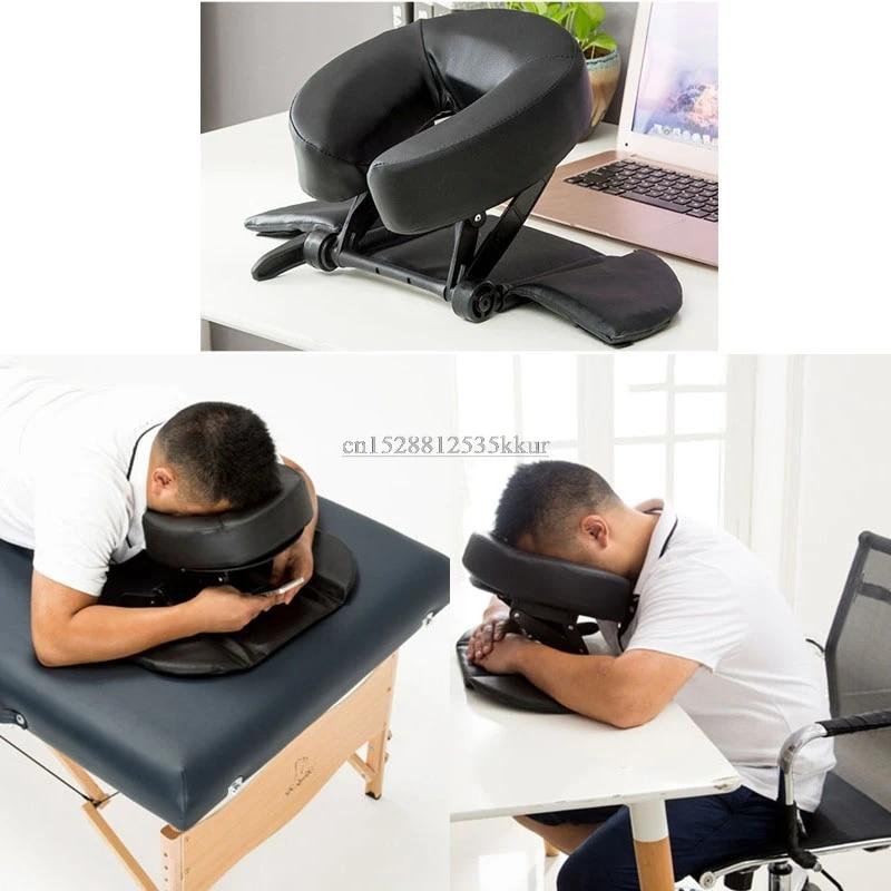 foam spa massage table pillow u shape bolster face down cradle nap sleeping cushion for office desk school travel salon