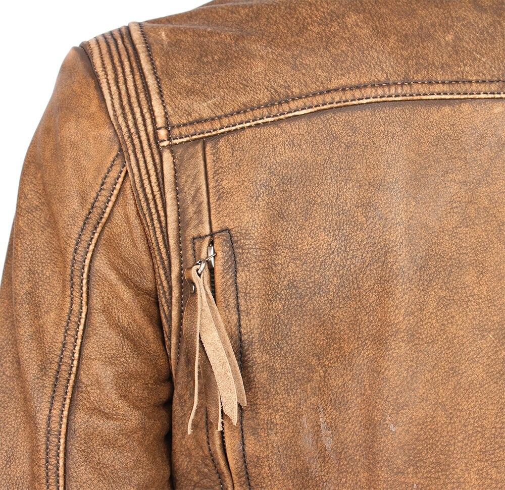H3651115bf89f4d158198f3c3f79844a4v Vintage Motorcycle Jacket Slim Fit Thick Men Leather Jacket 100% Cowhide Moto Biker Jacket Man Leather Coat Winter Warm M455
