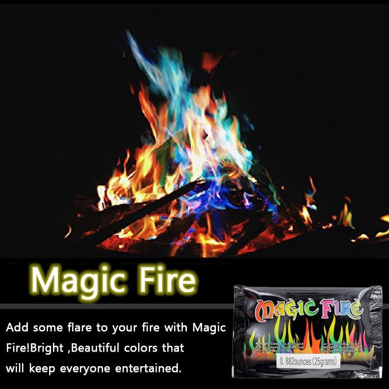 Mystical Fire Coloured Magic Flames Additive Bonfire Campfire Party  Fireplace Powder Magic Tricks Illusion Pyrotechnics Toys|Magic Tricks| -  AliExpress