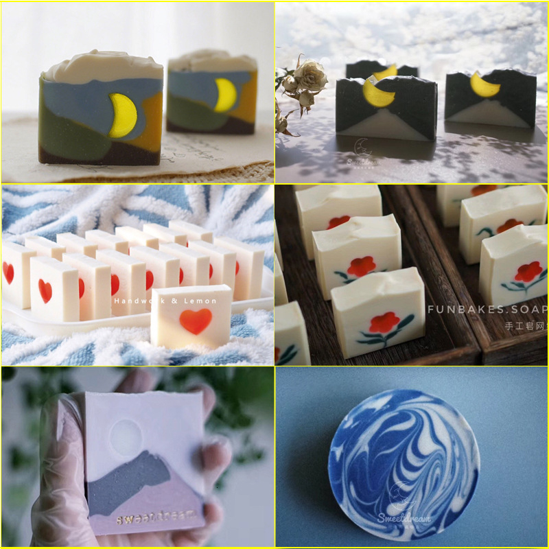 Hand Made DIY Silicone Tube Column Mold Soap Mould Form Fondant Cake Mould Candy Chocolate Fondant Cake Cookie Decoration Tools
