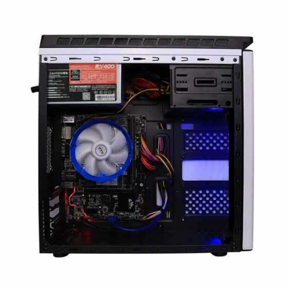 Ipason Komputer Kantor G3930 Upgrade G4900 DDR4 4G 120G SSD Rumah Kantor Perusahaan Pengadaan Komputer Desktop