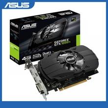 Asus PH GTX 1050Ti 4G グラフィックスカード 7008MHz 128Bit 1290/1392MHz GDDR5 PCI Express 3.0 16X GeForce GTX 1050Ti ビデオカード