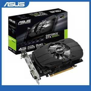 Image 1 - Asus PH GTX 1050Ti 4G กราฟิกการ์ด 7008MHz 128Bit 1290/1392MHz GDDR5 PCI Express 3.0 16X GeForce GTX 1050Ti การ์ด