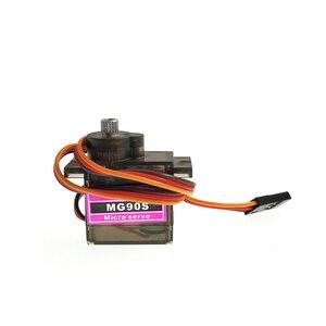 Image 4 - Electrónica Inteligente Servo Digital de engranaje de Metal para vehículo de control remoto, 6 unidades/lote, Torre Pro MG90S, 9g, SG90