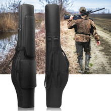 """4"""" тактическая двойная Винтовка Сумка Рюкзак мягкий пистолет сумка для хранения военный страйкбол пистолет чехол для наружной охоты"""