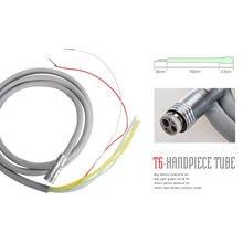ทันตกรรม6รูท่อซิลิโคนท่อสำหรับความเร็วสูงไฟเบอร์ออปติกLED Handpiece