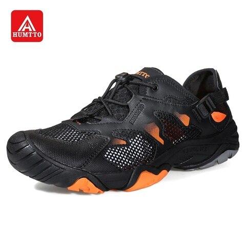 humtto 2020new sapatos de agua para os homens do aqua sapatos respiravel caminhadas pesca tenis