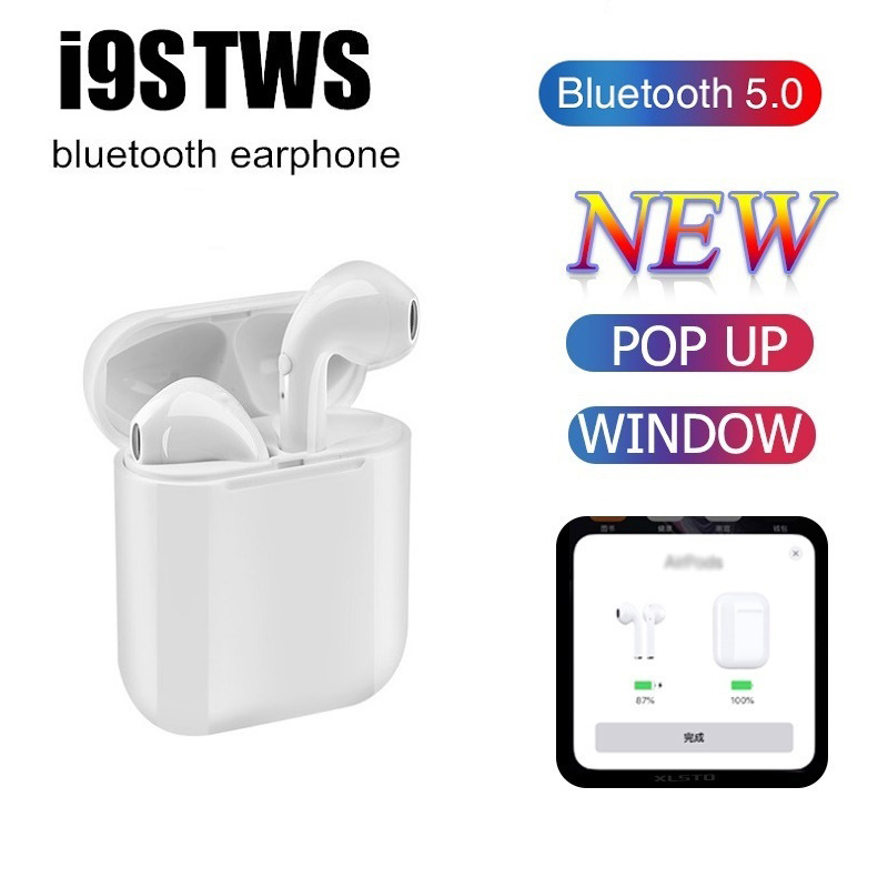 I9s TWS Wireless Headphones I7s TWS Bluetooth Earphone In Air Sport Wireless Stereo Hands-free With Mic For Original Iphone Ear