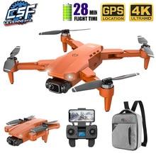 طائرة بدون طيار مزودة بكاميرا عالية الدقة ، طائرة بدون طيار L900 5G GPS 4K مع FPV ، وقت طيران 28 دقيقة ، محرك بدون فرش ، مسافة 2020 كجم ، 1.2