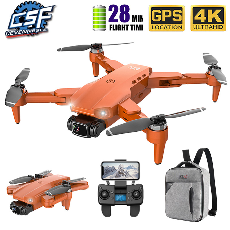 2020 nowy L900 Drone 5G GPS 4K z kamera HD FPV 28min czas lotu bezszczotkowy silnik Quadcopter odległość 1.2km profesjonalne drony
