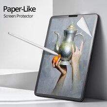 YWVAK бумажная Защитная пленка для экрана матовая ПЭТ Антибликовая картина для Apple iPad mini 5 9,7 10,2 10,5 Pro11 12,9 дюймов